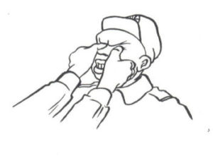 Eye gouge (nacisk na gałki oczne)